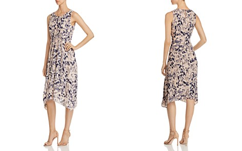 NIC+ZOE Petal or Nothing Shirred Midi Dress - Bloomingdale's_2