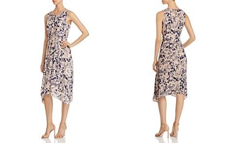 NIC+ZOE Petal or Nothing Shirred Midi Dress - Bloomingdale's_2