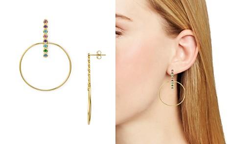 Argento Vivo Rainbow Bar & Loop Drop Earrings - Bloomingdale's_2