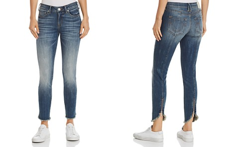 True Religion Halle Mid Rise Skinny Jeans in Seasoned Blue - Bloomingdale's_2