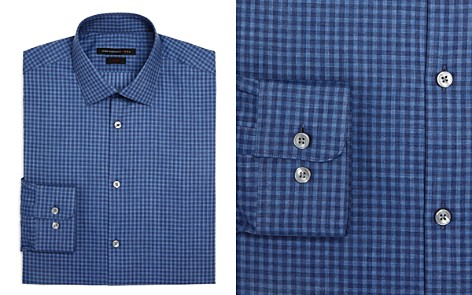 John Varvatos Star USA Check Slim Fit Dress Shirt - Bloomingdale's_2
