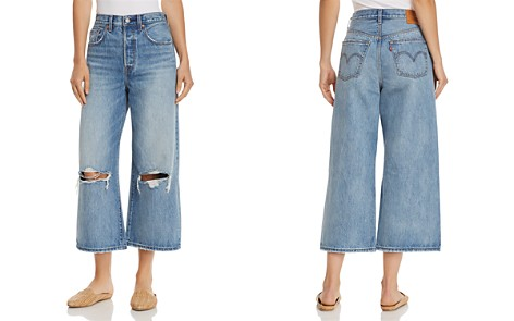 Levi's High Water Wide Leg Jeans in Straight Up - Bloomingdale's_2