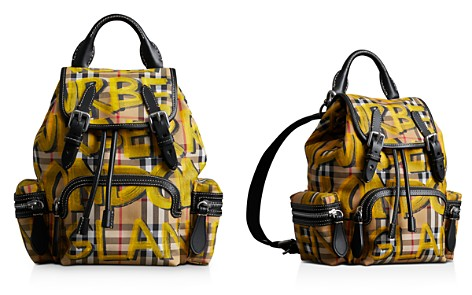 Burberry Graffiti Check Rucksack - Bloomingdale's_2