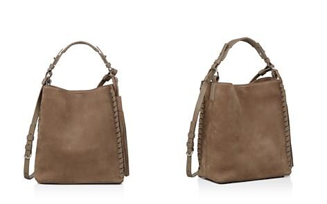 ALLSAINTS Kepi Nubuck Leather Shoulder Bag - Bloomingdale's_2