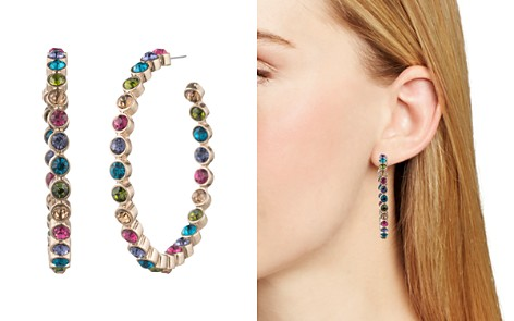AQUA Multicolor Hoop Earrings - 100% Exclusive - Bloomingdale's_2