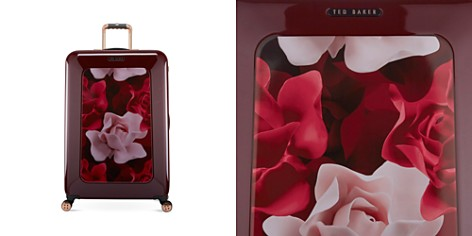 Ted Baker Woman's Porcelain Rose Large 4-Wheel Trolley - Bloomingdale's_2
