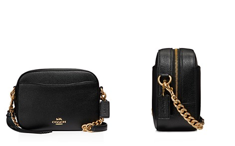 COACH Polished Pebble Leather Camera Bag - Bloomingdale's_2
