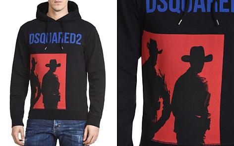 DSQUARED2 Cowboy Graphic Hooded Sweatshirt - Bloomingdale's_2