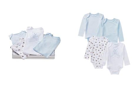 Ralph Lauren Boys' Bear Cotton Bodysuits, Set of 4 - Baby - Bloomingdale's_2