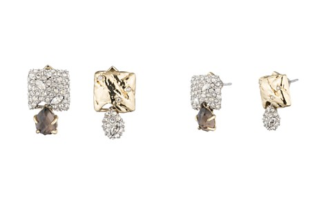 Alexis Bittar Mismatched Crystal Cluster Stud Earrings - Bloomingdale's_2