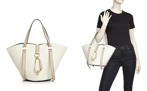 ZAC Zac Posen Belay Small Color-Block Leather Tote - Bloomingdale's_2
