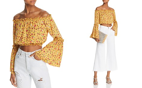 The Fifth Label Sonic Off-the-Shoulder Cropped Top - Bloomingdale's_2