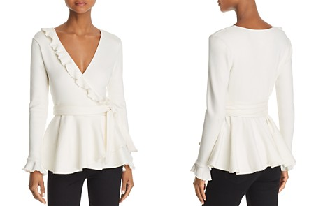 C/MEO Collective A Little More Ruffled Wrap Top - Bloomingdale's_2