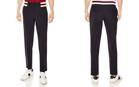 Sandro Jupiter Varsity Slim Fit Pants - Bloomingdale's_2