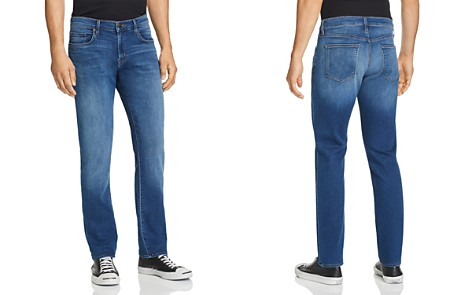 J Brand Kane French Terry Straight Fit Jeans in Roper - Bloomingdale's_2