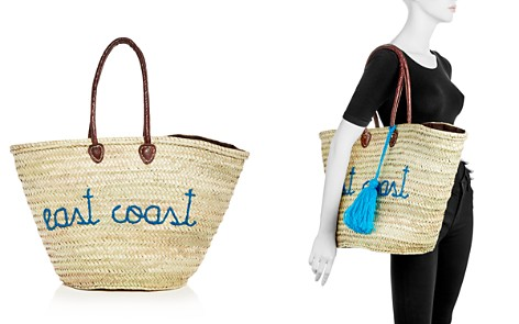 Soeur Du Maroc East Coast West Coast Straw Tote - Bloomingdale's_2