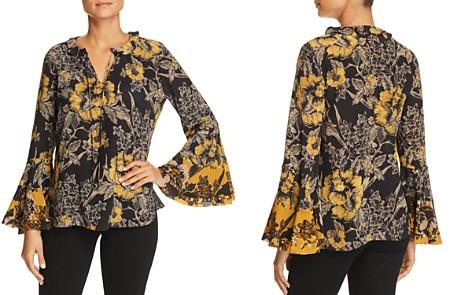 Kobi Halperin Adelle Floral-Print Silk Top - Bloomingdale's_2