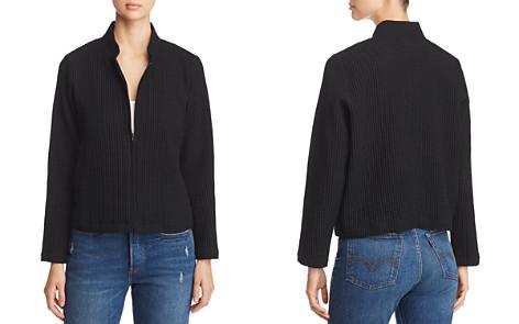 Eileen Fisher Waffle-Knit Zip-Up Jacket - Bloomingdale's_2