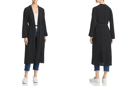 Eileen Fisher Morse Code Print Kimono Jacket - Bloomingdale's_2