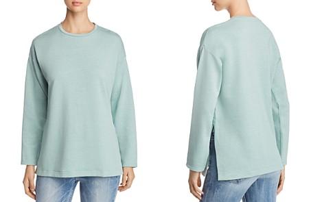 Eileen Fisher Petites Long Sleeve Top - Bloomingdale's_2