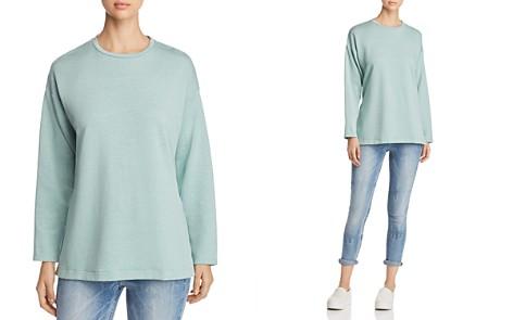 Eileen Fisher Side-Slit Sweatshirt - Bloomingdale's_2