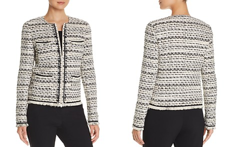 Lafayette 148 New York Benji Tweed Zip-Front Jacket - Bloomingdale's_2