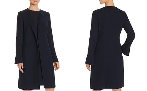 Lafayette 148 New York Russo Textured Wool Long Jacket - Bloomingdale's_2