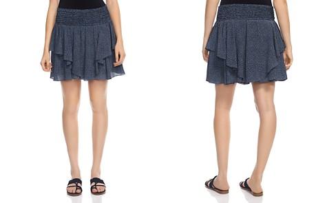 HALSTON HERITAGE Printed Silk Mini Skirt - Bloomingdale's_2