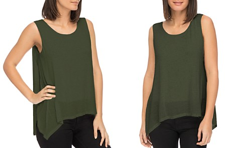 B Collection by Bobeau Faith Asymmetric Layered Tank - Bloomingdale's_2