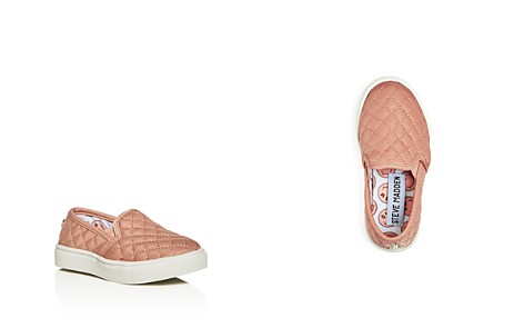 STEVE MADDEN Girls' Quilted Slip-On Sneakers - Toddler, Little Kid - Bloomingdale's_2
