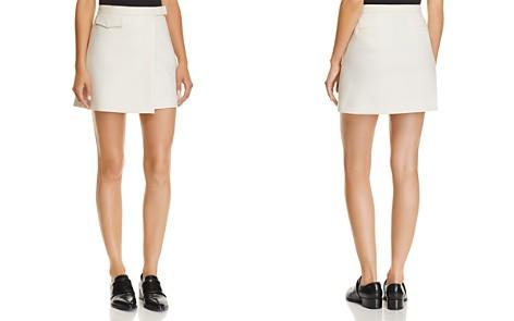 Theory Mini Wrap Skirt - Bloomingdale's_2