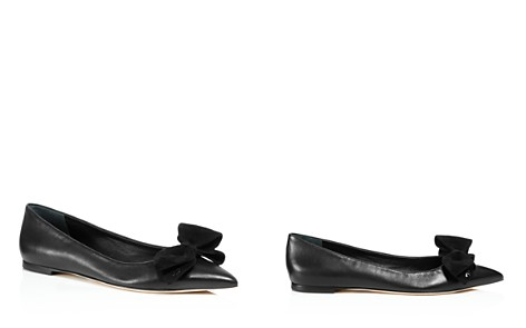 Tory Burch Women's Rosalind Pointed Toe Leather Flats - Bloomingdale's_2