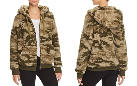 ATM Anthony Thomas Melillo Camo Sherpa Jacket - Bloomingdale's_2