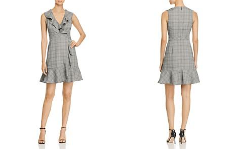 kate spade new york Mod Ruffled Plaid Mini Dress - Bloomingdale's_2