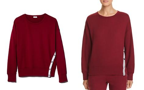 Splendid Side-Snap Sweatshirt - 100% Exclusive - Bloomingdale's_2
