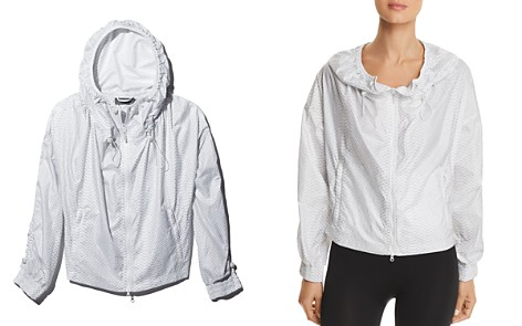adidas by Stella McCartney Snake Print Drawcord Windbreaker - Bloomingdale's_2