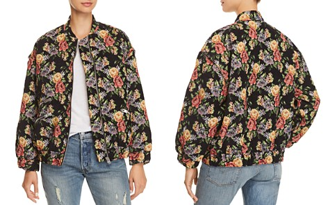 IRO.JEANS Amour Floral Bomber Jacket - Bloomingdale's_2