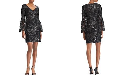 Lauren Ralph Lauren Sequined Lace Dress - Bloomingdale's_2