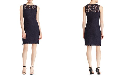 Lauren Ralph Lauren Floral Lace Dress - Bloomingdale's_2