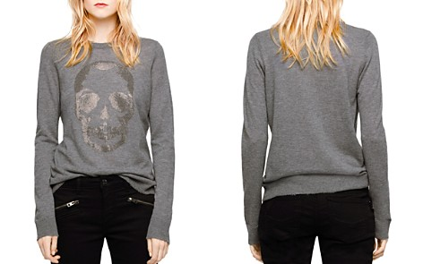 Zadig & Voltaire Miss Bis Embellished Cashmere Sweater - Bloomingdale's_2