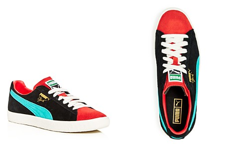 PUMA Men's Clyde from the Archive Color-Block Suede Lace-Up Sneakers - Bloomingdale's_2