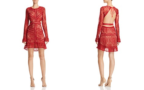 For Love & Lemons Emerie Lace Dress - 100% Exclusive - Bloomingdale's_2