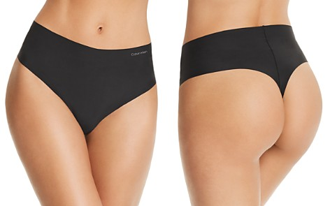 Calvin Klein Invisibles High-Waist Retro Thong - Bloomingdale's_2