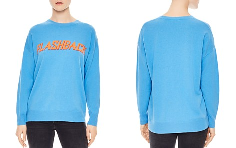 Sandro Childhood Flashback Wool & Cashmere Graphic Sweater - Bloomingdale's_2