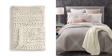 Oake Soft Chunky Throw - 100% Exclusive - Bloomingdale's_2