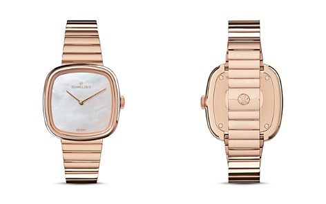 Gomelsky The Eppie Rose Gold-Tone Watch, 32mm x 32mm - Bloomingdale's_2