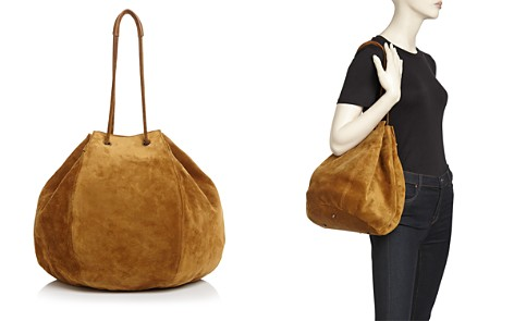 Creatures of Comfort Large Convertible Suede Puff Bag - Bloomingdale's_2