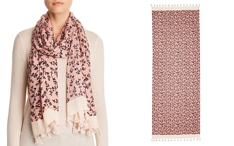 kate spade new york Wild Roses Oblong Scarf - Bloomingdale's_2