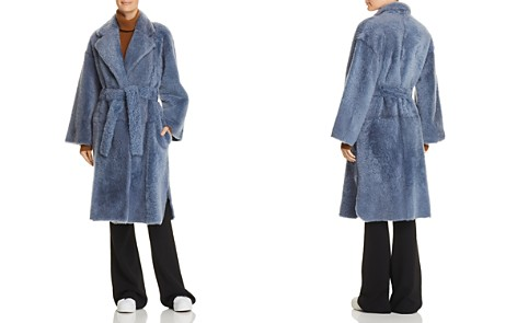 Theory Shearling Robe Coat - Bloomingdale's_2