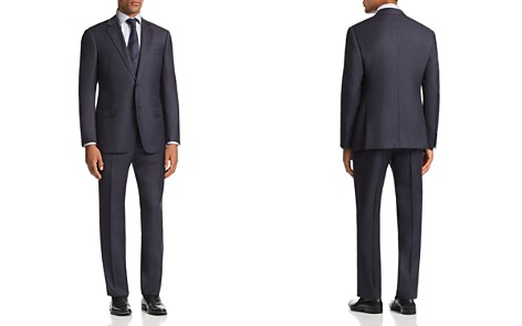 Emporio Armani G-Line Micro-Check-Print Classic Fit Suit - Bloomingdale's_2